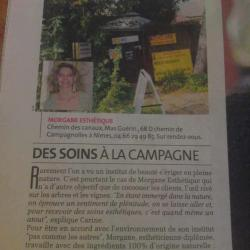Article dans la gazette